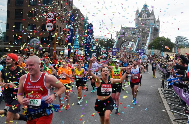 Over 80,000 people took part in the 2021 London Marathon