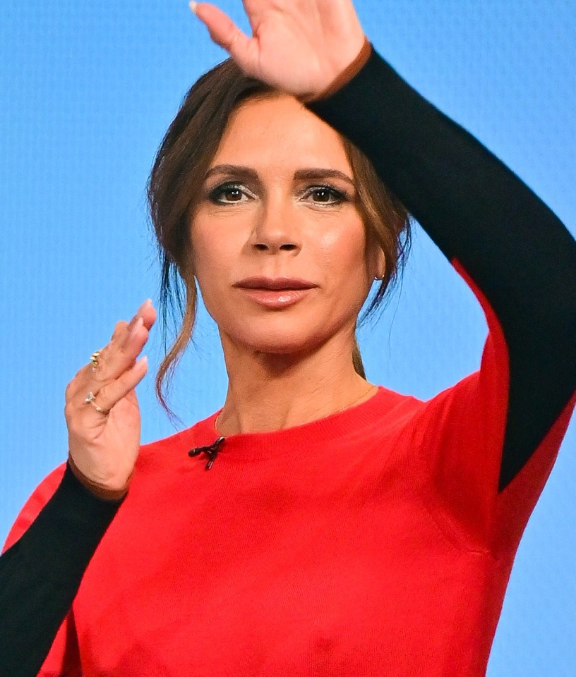 Victoria Beckham's plumper pout caught Good Morning America viewers' attention