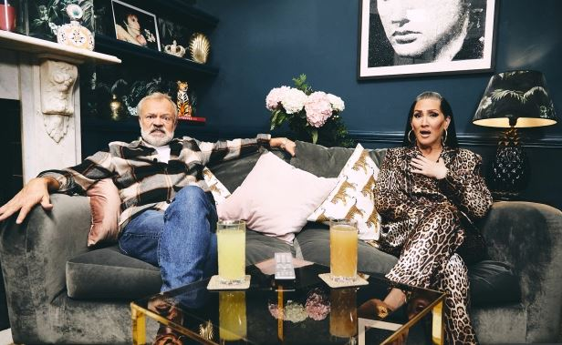 They join the previously announced Graham Norton and Michelle Visage