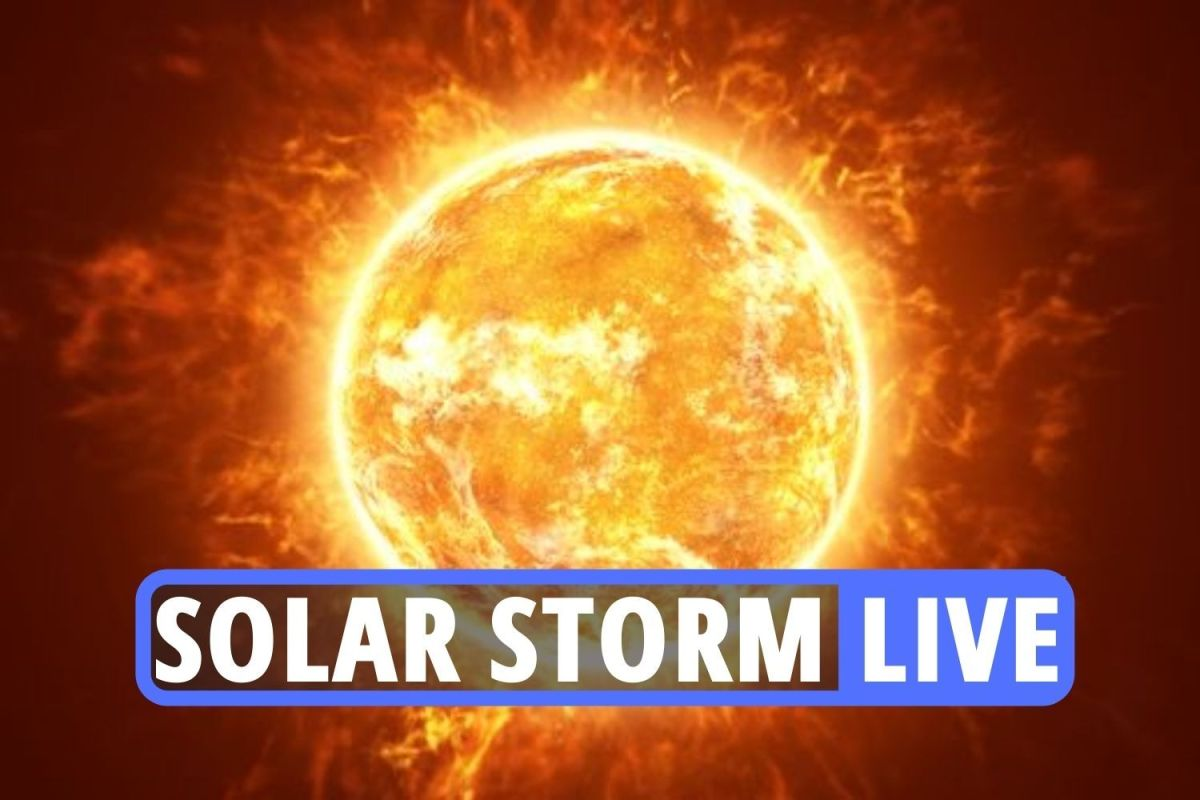 , Northern lights latest – Aurora Borealis seen in UK with huge solar storm flare to cause GLOBAL power problems, The Evepost News