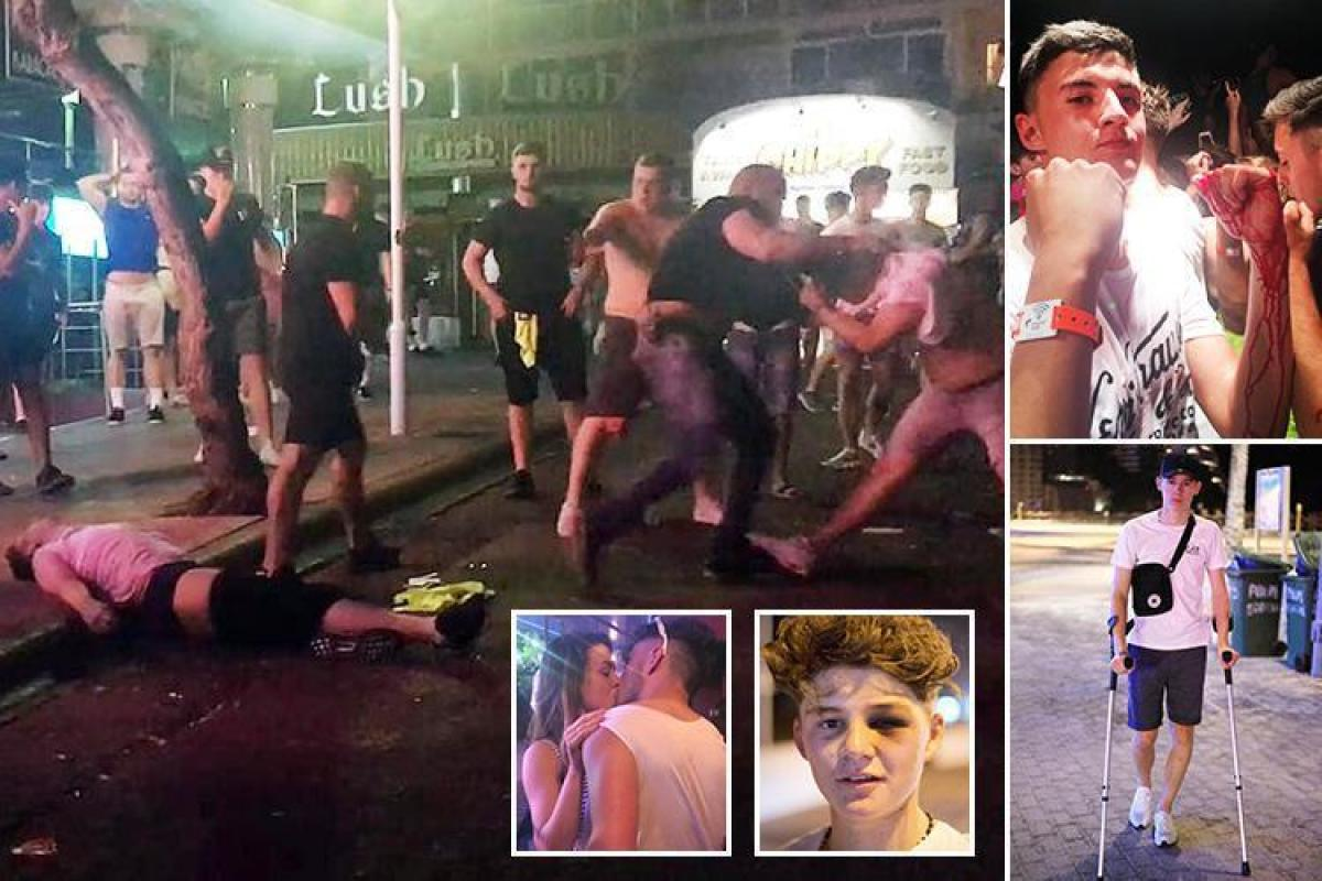 Magaluf used to be known just as a casual sex hotspot but now it has become  a warzone as boozy tourists battle with cops and bouncers