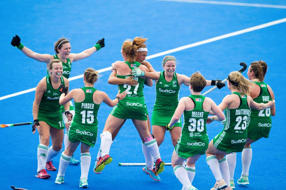 big sale b1d72 ffd00 Best wishes flood in for Ireland's hockey team as they get ...