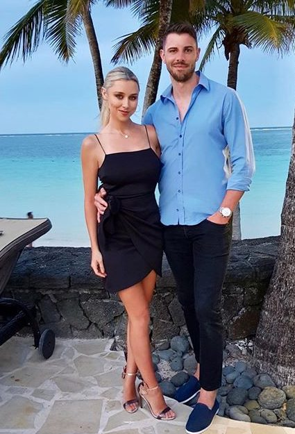 Una is now dating David Breen and the pair recently enjoyed a sunshine break in Mauritius