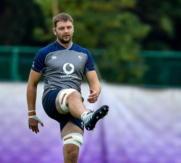 Henderson said he will try to keep Ireland in rugby World Cup for boss and captain