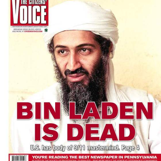 Tamara Dunn's cover design of the bin Laden raid