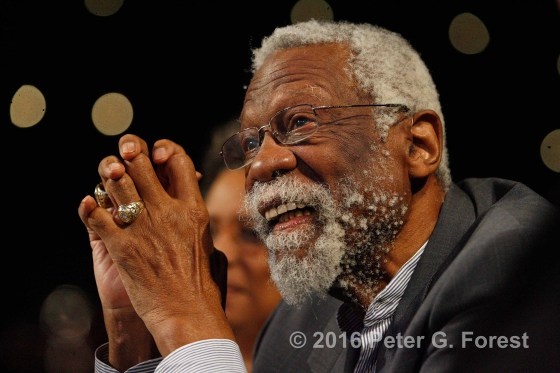 Bill Russell Photo by Peter Forest