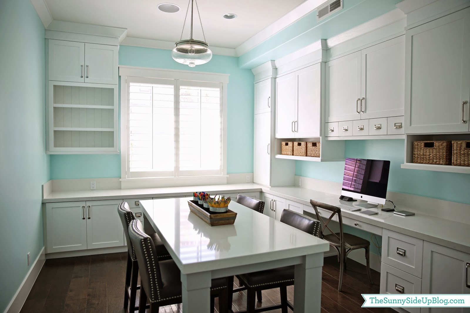 Ideas for a Great Craft/Homework Space - WoodCastle Homes