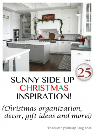 sunny side up christmas inspiration