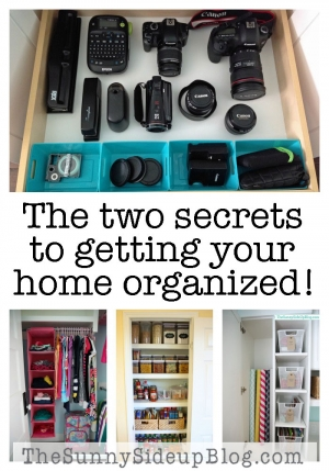 2-secrets-to-getting-organized