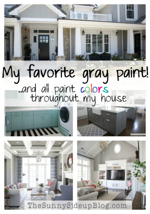 My favorite gray paint!