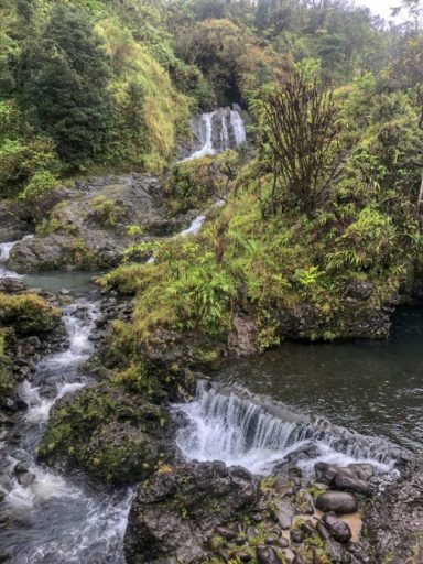 road to hana maui  Upper Waikani fall