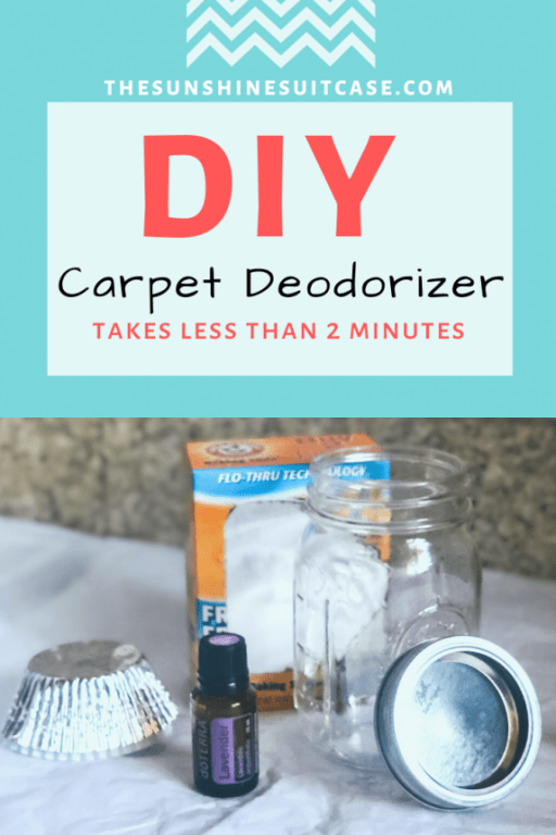 Easy DIY Carpet Deodorizer with essential oils