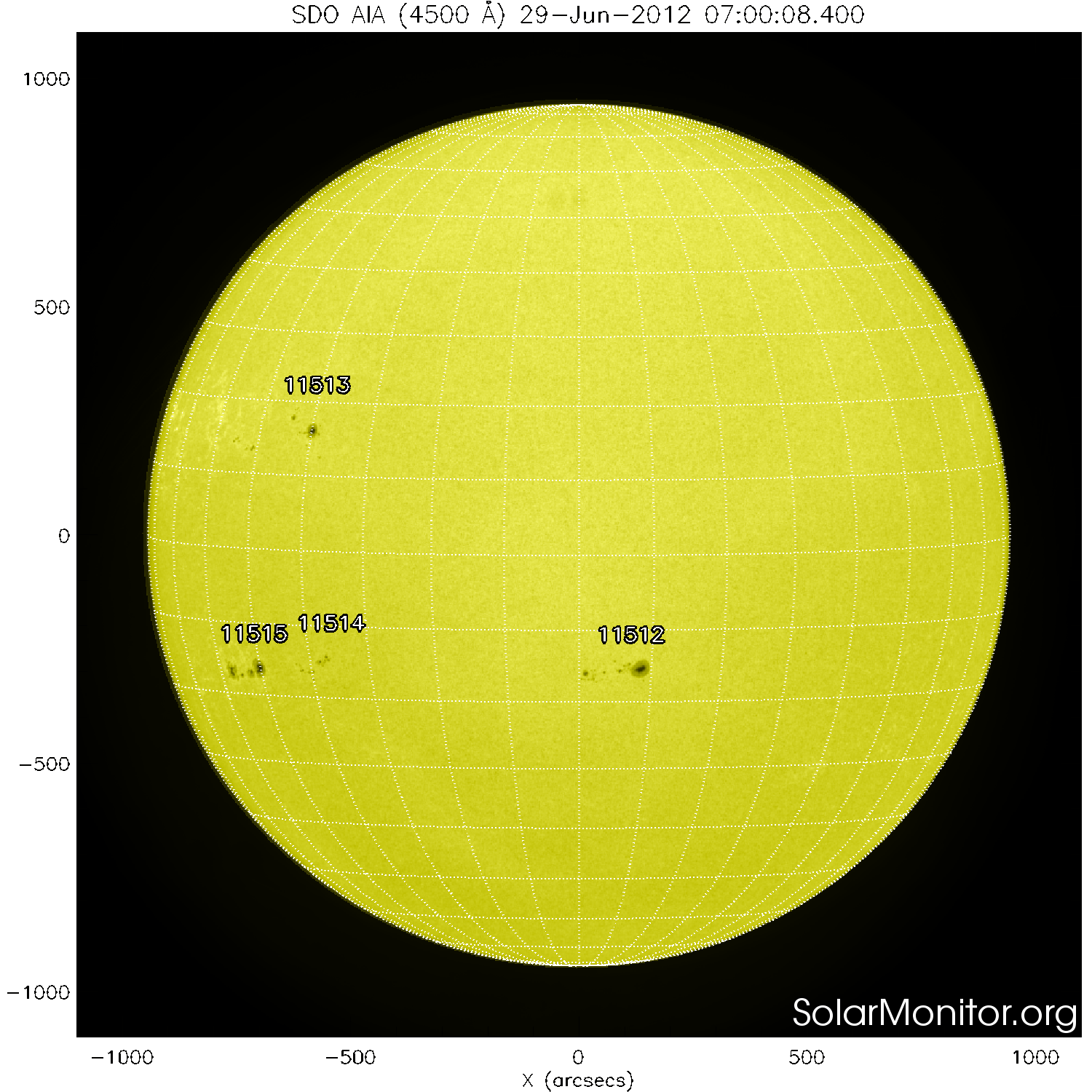 Some Moderate Activity For June 28 29