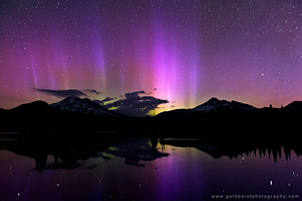 July 15, 2012 Sparks Lake, Oregon (By Brad Goldpaint)