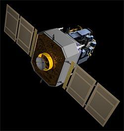 NASA SOHO spacecraft