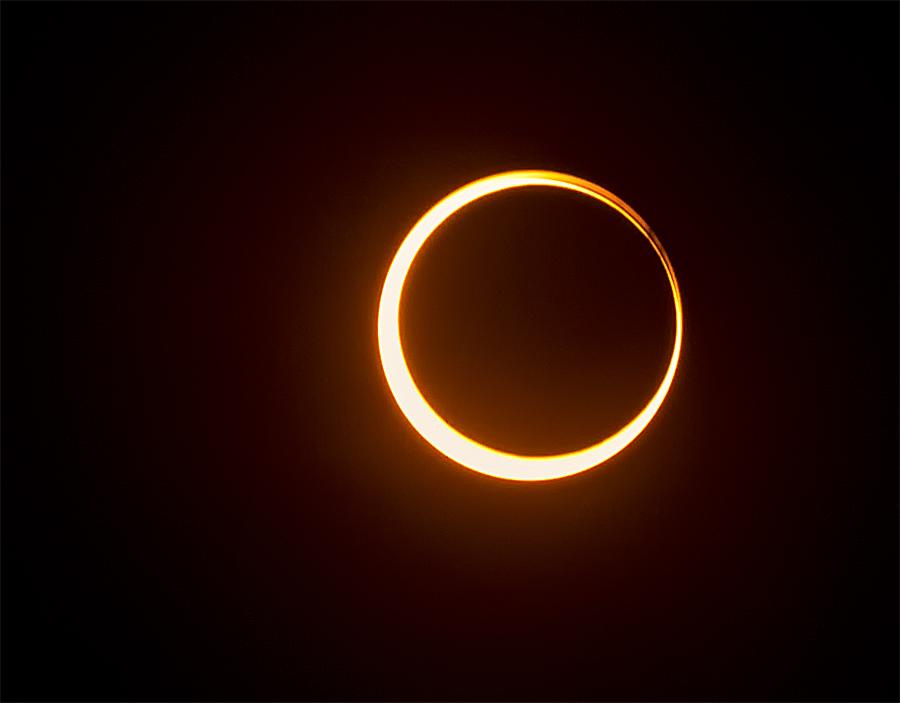 Annular Eclipse – Japan – May 21, 2012 CREDIT: Joseph Mina