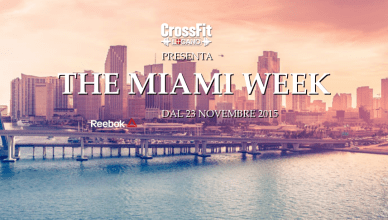 The Miami Week by CrossFit Lugano | The SunWod