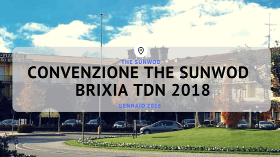 Convenzione Brixia Throwdown - Montichiari | The SunWod