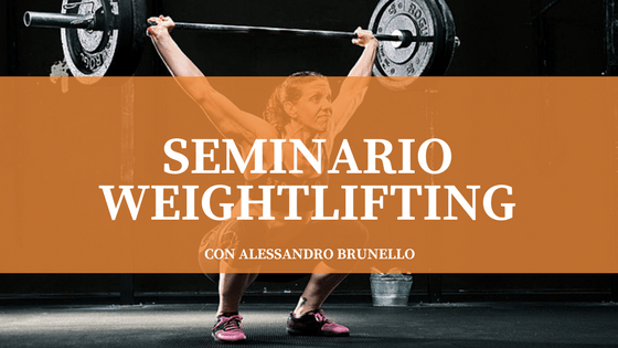 Seminario weightlifting con Alessandro Brunello - Workshop presso CrossFit Erba | The SunWod - Viaggi e Alloggi