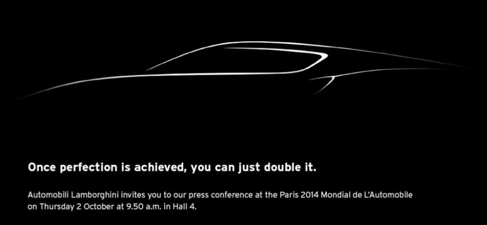 Lamborghini hybrid supercar ready for Paris motor show debut