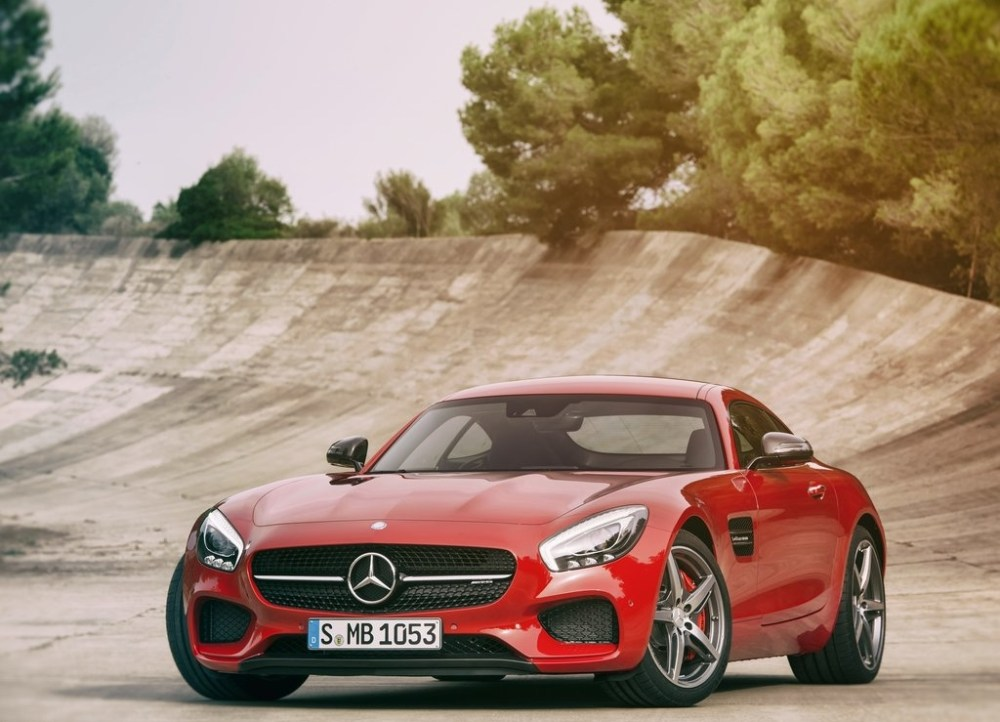 Mercedes AMG GT front