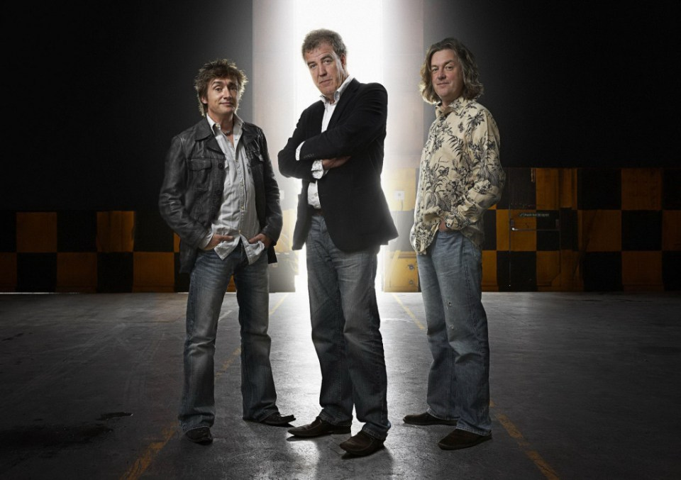 Clarkson, Hammond and May's new car show on Amazon Prime