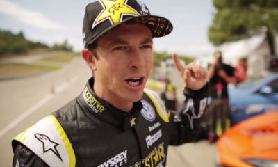 Tanner Foust at Forza Fuel Speed Dating Challenge