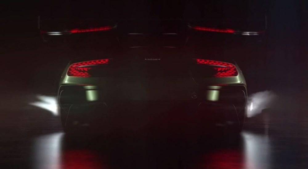 Aston Martin Vulcan teaser
