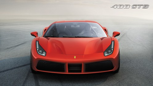 Ferrari 488 GTB front image