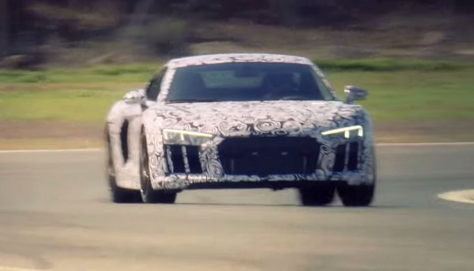 New Audi R8 V10 Plus