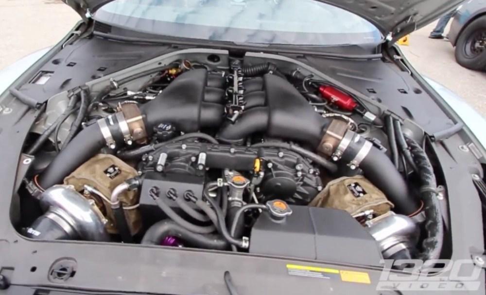 ETS Nissan GT-R setup