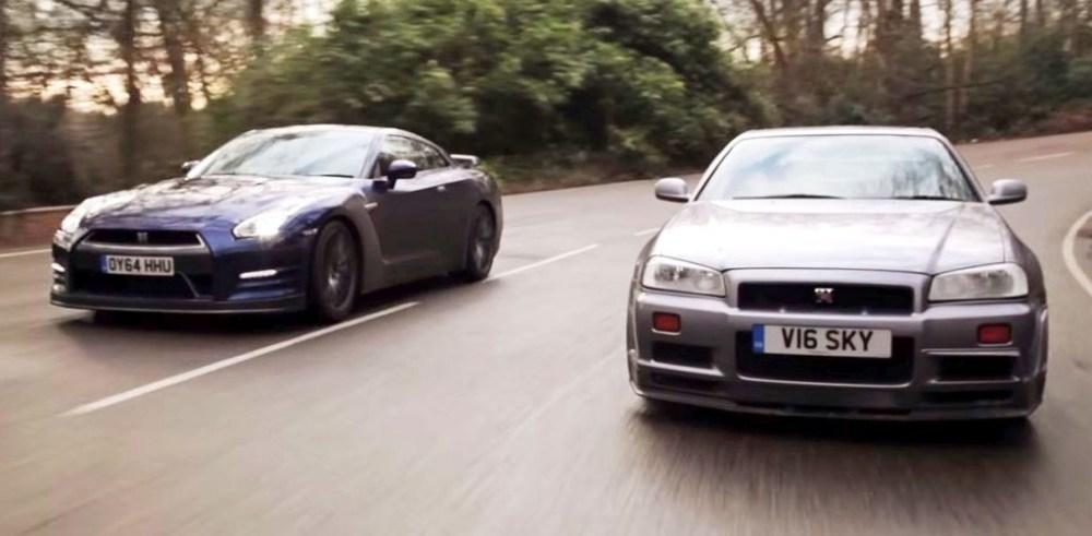 Nissan GTR Old vs New