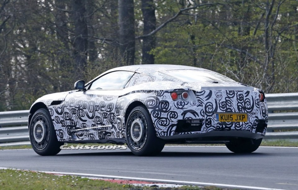 Aston Martin DB11 Spy shot 2