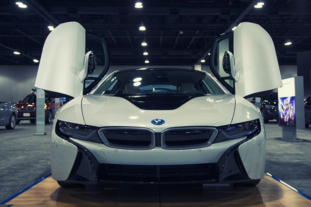 BMW i8 at Denver Auto Show