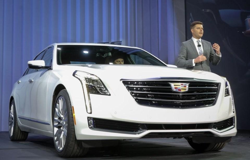 2016 Cadillac CT6 at New York Auto Show