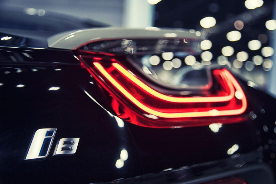 BMW i8 Tail lights