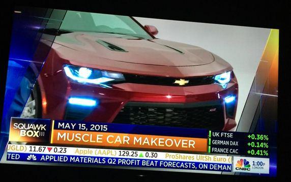 2016 Camaro leaked