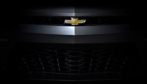 2016 Chevrolet Camaro front grille