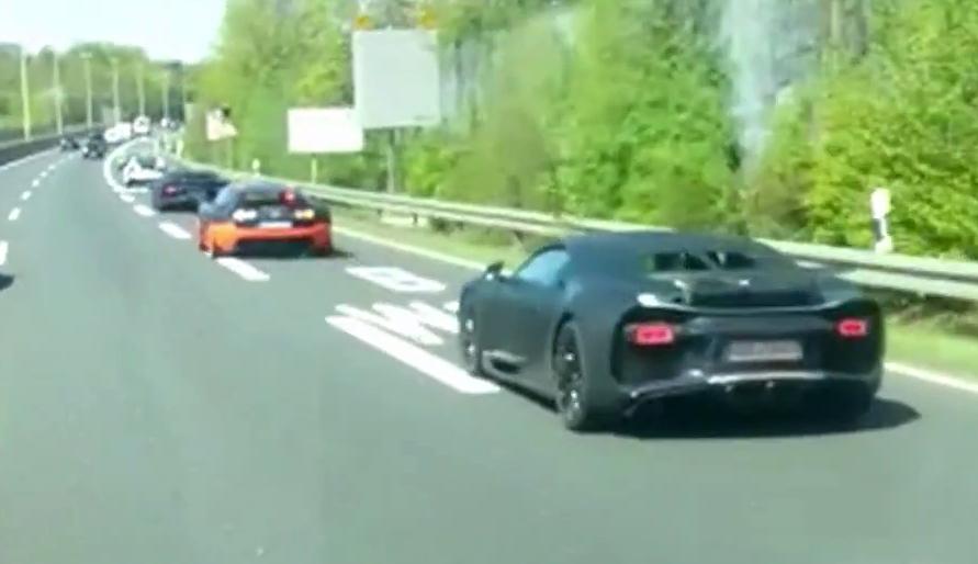 Bugatti Chiron prototype image