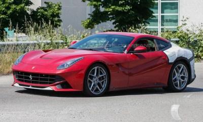 Ferrari F12 Berlinetta M front spy shot