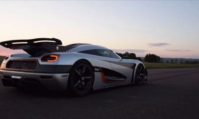 Koenigsegg One-1 world record 0-300-0