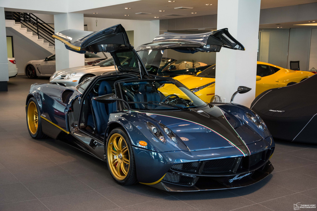 Salomondrin's Pagani Huayra Sold to David Lee