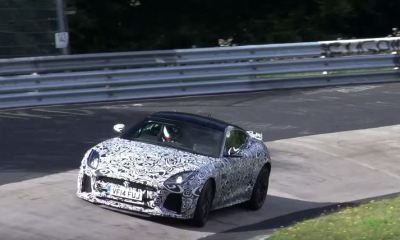 Jaguar F-Type SVR Coupe at the Nurburgring