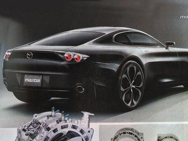 Mazda RX-9 leaked