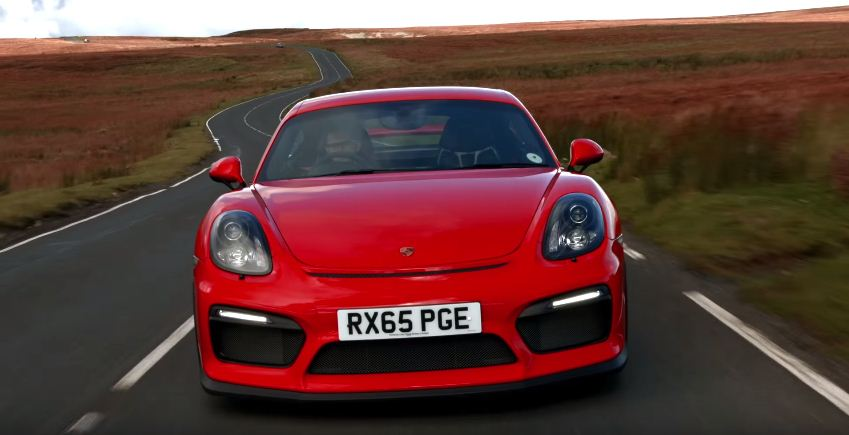 Porsche Cayman GT4 road test