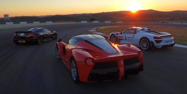 LaFerrari vs Mclaren P1 vs Porsche 918