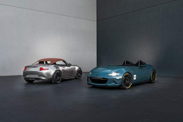 Mazda MX-5 Spyder and MX-5 Speedster for SEMA 2015