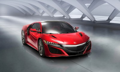 2017 Acura NSX front angle image