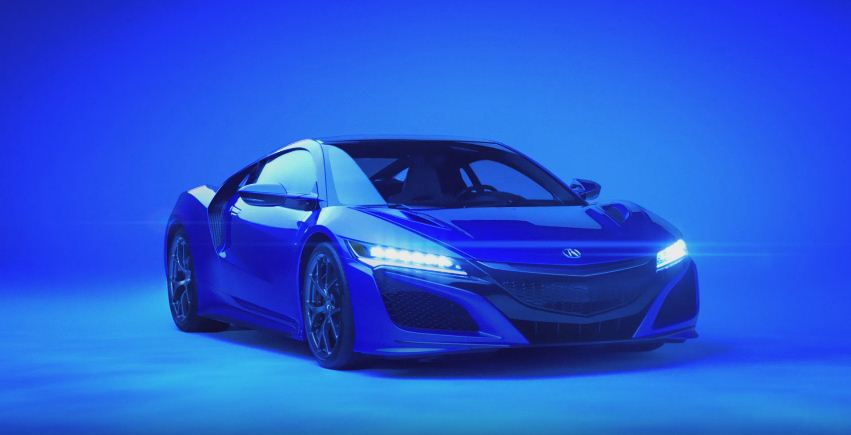Acura NSX 2016 Super Bowl Ad