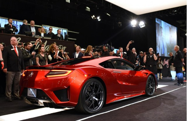 Acura NSX VIN 001 Sold for $1.2 Million at Barret-Jackson's Charity Auction-1